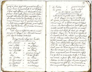 Rituel maçonnique de 1769