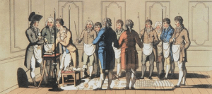 Initiation XVIIIe siècle