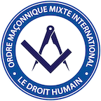 Logo LE DROIT HUMAIN INTERNATIONAL 144px